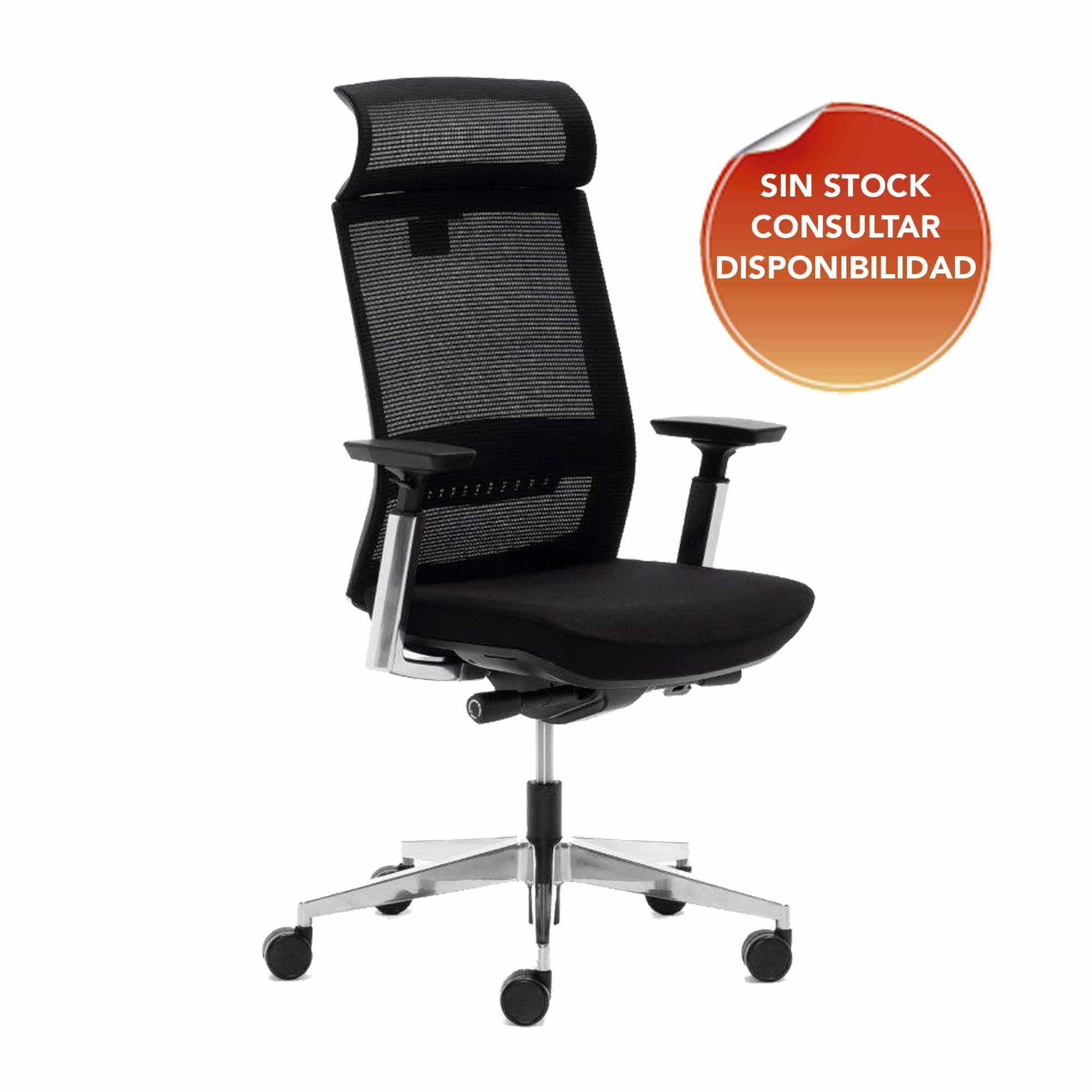 silla de oficina toronto color negro